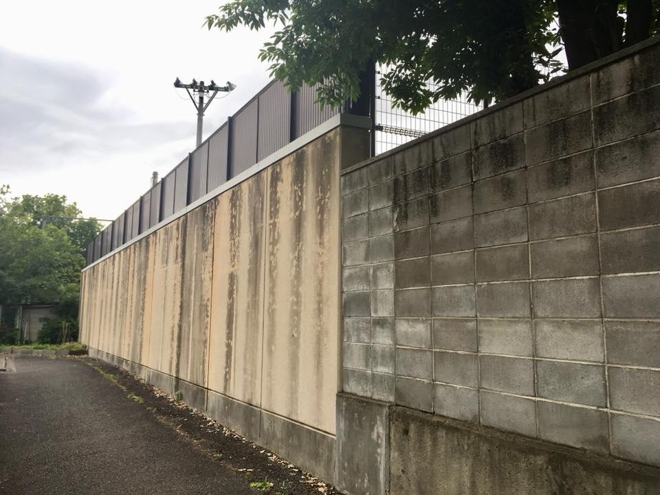 昨日の地震を受けて ーブロック塀