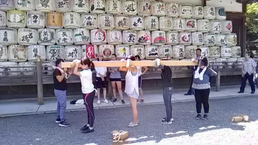 松尾大社さんの女神輿、参加します!