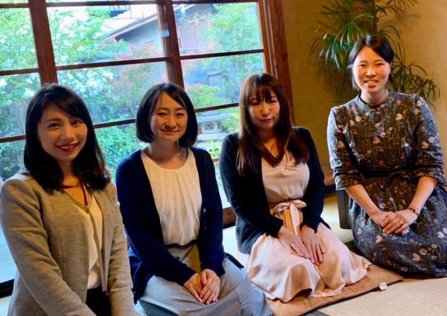 京都党女性4人集