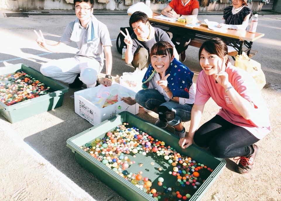 嵐山小学校夏祭り!!