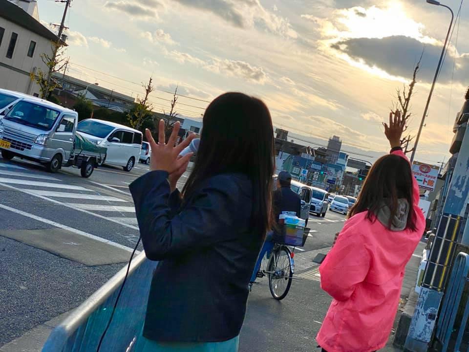 西京区に参上